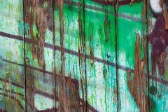 Parede riscada da madeira Imagem de Stock
