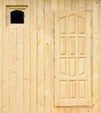 Parede rural da casa sob a construção Imagens de Stock Royalty Free
