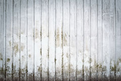 Parede suja metálica Imagens de Stock