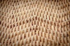 Parede tailandesa nativa do bambu do estilo Imagens de Stock Royalty Free