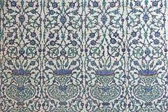 Parede telhada, Harem, palácio de Topkapi imagens de stock royalty free