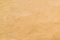 Parede Textured da cor alaranjada Imagens de Stock