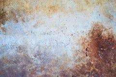 Parede textured oxidação do fundo Foto de Stock Royalty Free