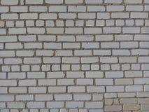 Parede, tijolo, branco, fundo, textura, alvenaria, espaço, projeto, teste padrão, velho, contexto, arquitetura, ninguém, construç Fotografia de Stock Royalty Free