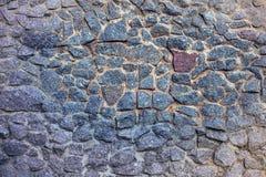 Parede - uma colocação das pedras Imagem de Stock