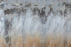 Parede vazia do cimento do grunge, estilo da parede do sótão Estilo interior do sótão foto de stock