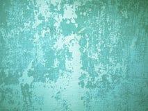 Parede velha áspera verde fotos de stock royalty free