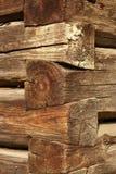 Parede velha da casa Imagem de Stock