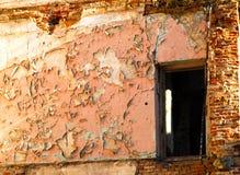 Parede velha da casa Foto de Stock