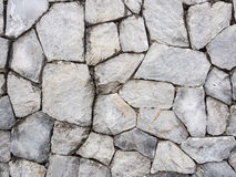 Parede velha da rocha Foto de Stock