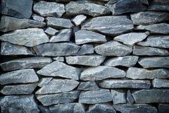 Parede velha da rocha Imagens de Stock