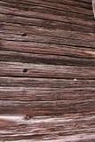 Parede velha de casas de madeira Imagem de Stock Royalty Free
