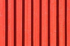Parede velha do fundo no vermelho Foto de Stock Royalty Free
