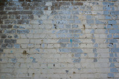 Parede velha dos tijolos Fotografia de Stock