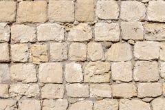 Parede velha feita da pedra natural Imagem de Stock