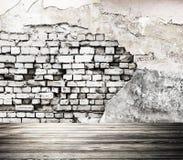 Parede velha interior rendição 3d Imagens de Stock