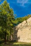 Parede velha no monte de Petrin, Praga Imagens de Stock Royalty Free