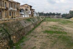 Parede Venetian da cidade, Nicosia, Chipre Foto de Stock