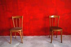 Parede vermelha Imagens de Stock Royalty Free