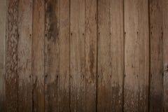 Paredes almofadadas do grunge madeira velha imagem de stock