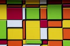 Paredes coloridas Imagens de Stock
