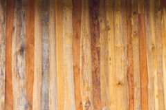 Paredes com painéis de madeira antigas fotos de stock royalty free