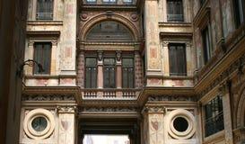 Paredes con los frescos. Roma, Italia. Imagen de archivo libre de regalías