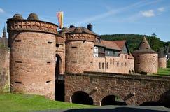 Paredes da cidade de Buedingen Imagens de Stock Royalty Free