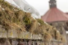 Paredes da fortaleza de Karela foto de stock royalty free