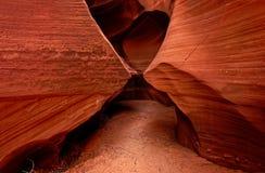 Paredes da garganta do antílope, o Arizona Fotos de Stock Royalty Free