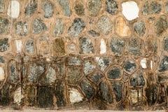 Paredes da pedra calcária imagens de stock