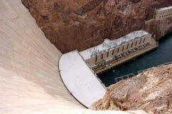 Paredes da represa de Hoover Fotografia de Stock Royalty Free