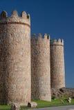 Paredes de Ávila fotografía de archivo libre de regalías
