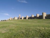 Paredes de Ávila Imágenes de archivo libres de regalías