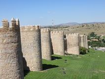Paredes de Ávila foto de archivo