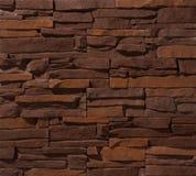 Paredes de alvenaria da pedra e do tijolo Imagens de Stock