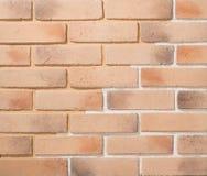 Paredes de alvenaria da pedra e do tijolo Fotos de Stock Royalty Free