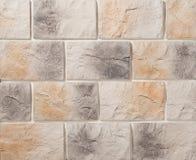 Paredes de alvenaria da pedra e do tijolo Fotos de Stock