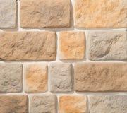 Paredes de alvenaria da pedra e do tijolo Imagens de Stock Royalty Free