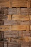 Paredes de bambú Fotos de archivo libres de regalías