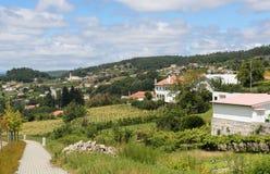 Paredes de Coura in Norte region, Portugal Royalty Free Stock Photos
