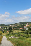 Paredes de Coura in Norte region, Portugal Royalty Free Stock Images