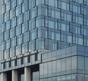Paredes de cristal de la configuración moderna del hotel Foto de archivo