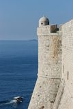 Paredes de Dubrovnik Foto de Stock Royalty Free
