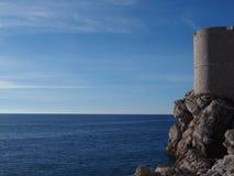 Paredes de Dubrovnik Foto de archivo