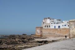 Paredes de Essaouira Imágenes de archivo libres de regalías