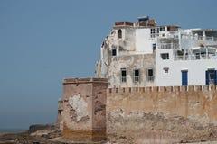 Paredes de Essaouira Fotos de archivo