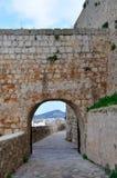 Paredes de Ibiza Foto de archivo libre de regalías
