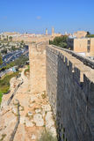 Paredes de Jerusalén Fotos de archivo