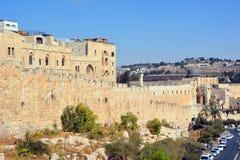 Paredes de Jerusalem Fotografia de Stock Royalty Free